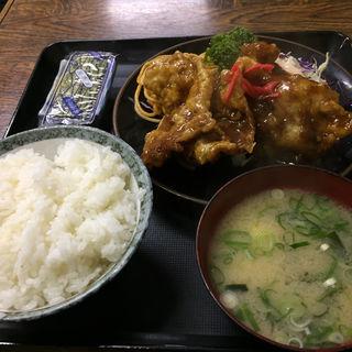 ロースからあげ定食(定食の店 きよし (キヨシ))
