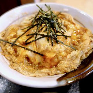 ミニ親子丼(丸國製麺所)