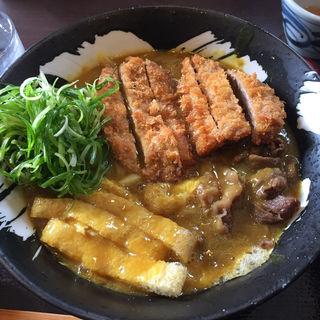 カツカレーうどん(手打ちうどん 団平 (だんぺい))
