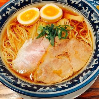 醤油味玉ラーメン(麺処 山一)