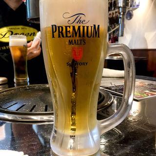 生ビール中(焼肉永昌苑 福岡店)