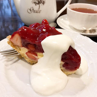 苺のパイ(Tea&Cake Grace (ティーアンドケーキ グレース))
