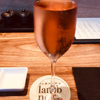 マリーアントワネットが愛したピンクスパークリングワイン(ラム焼肉専門店 lamb ne (らむね))