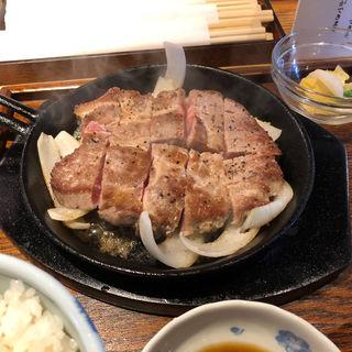 豚ステーキ(豚ステーキ十一 住吉店)