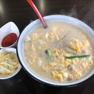 白い辛麺(辛麺屋 桝元 行橋店)
