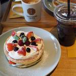 寿太郎のスペシャルホットケーキ(猿田彦珈琲 調布焙煎ホール)