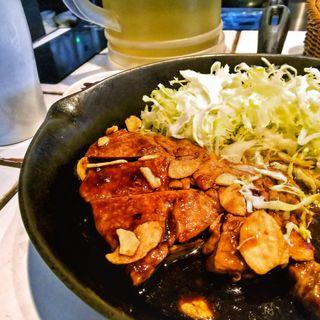 トンテキ定食(東京トンテキ)