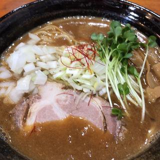 鶏麺みそ(桐麺 )