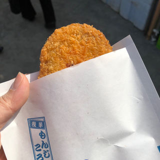 明太子もんじゃコロッケ(浅草もんじゃコロッケ)