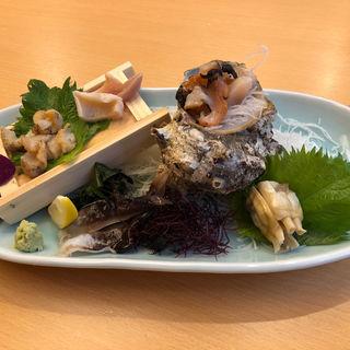 貝のお造り(ひょうたん寿司)
