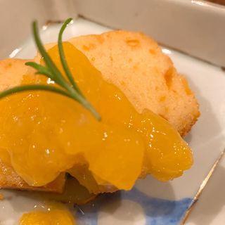 八朔のケーキ(コノ花まひろ )