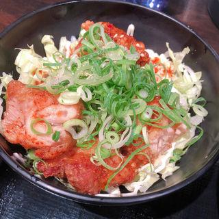 唐揚げ丼 ミニ(加寿屋 奈良新庄店 (KASUYA))