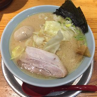 醤油とんこつ 味たま(三豊麺 日本橋茅場町店 )