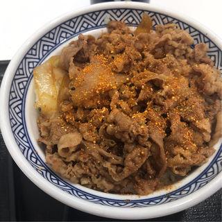 牛丼(大盛)