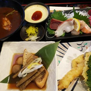 特別定食(魚輝水産 湯里店 (ウオテルスイサン))