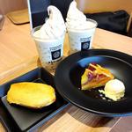 焼き芋ソフトクリームラテ(蔵出・焼き芋かいつか つくば店 )