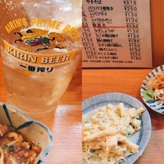 マカロニサラダ(立ち呑み晩杯屋 中延店)