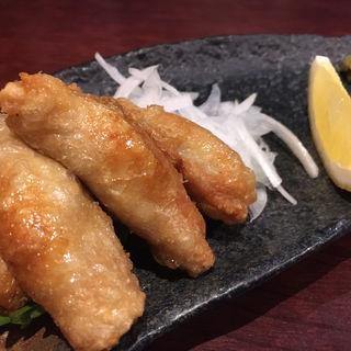 鶏皮ギョーザ(六味旬蔵)
