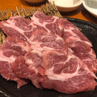 特盛生ラム肉(オホーツク北見焼肉のっけ 日本橋人形町店)