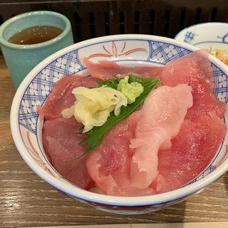 まぐろ2色丼(ランチメニュー)(磯丸水産 プリンセス大通り店 )