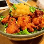 鶏の唐揚げおろしポン酢
