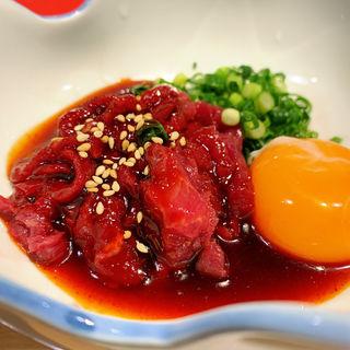 馬肉の桜ユッケ(ここら屋 中目黒店 )