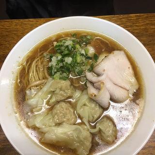 良温そば(醤油)太麺(良温 (Ra-on))