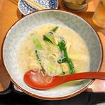 九条葱入りにゅう麺