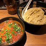 カラシビつけ麺(カラ鬼増し+¥100 シビ鬼増し+¥100)