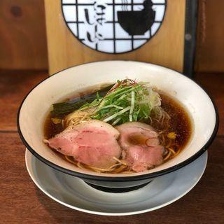 お魚清湯ラーメン(麺屋ほぃ )