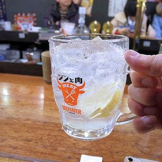 肉専用サワージントニ!!(万世橋酒場)