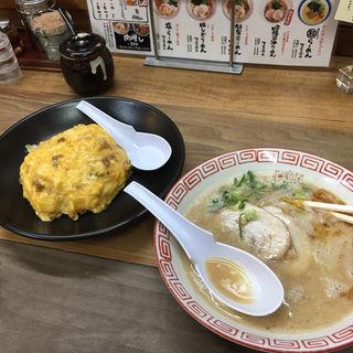 吟醸醤油らーめん(まんねん 千里丘店 )