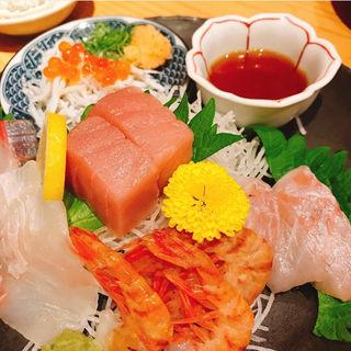 刺身(魚屋スタンドふじ子)