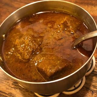 マトンカレー(印度料理シタール )