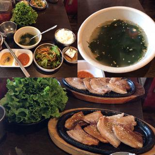 サムギョプサル定食(ちゃん豚 新宿店 )