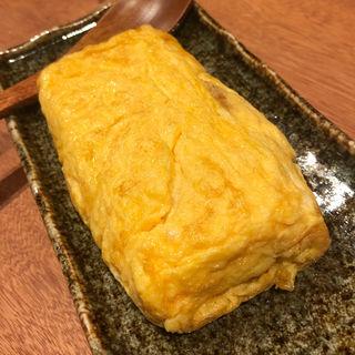 煮穴子の玉子焼き(酒場シナトラ 恵比寿店)