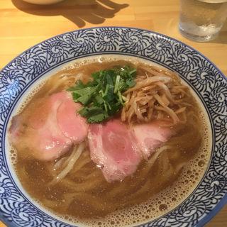煮干しらぁ麺(らぁ麺屋 はりねずみ)