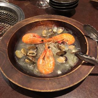 海鮮チャプチェ・ボンゴレ風(Hodori 用賀店 (ホドリ))