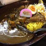 黒い肉カレー