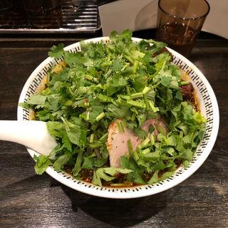 スパイスWパクチーラー麺(卍力 (マンリキ))