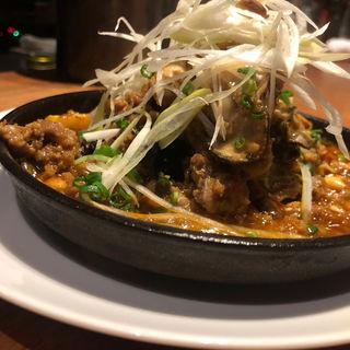 牡蠣とナスの麻婆豆腐(酒家の元)