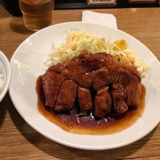 特製トンテキ定食(大阪トンテキ 大阪駅前第2ビル店 (【旧店名】とんとん屋))