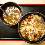 肉そば+カレールー