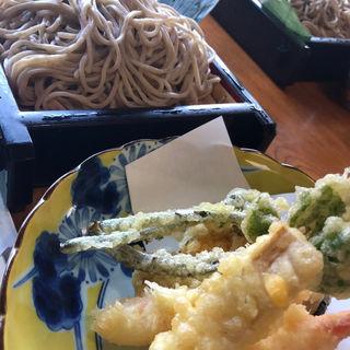 天ざる蕎麦(瀧不動生そば )