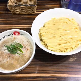 しお鶏煮込みつけ麺(ラーメン人生JET (ラーメン人生ジェット))