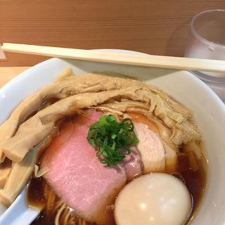 醤油らーめん(らぁ麺 はやし田)