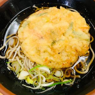 天ぷらそば(科学技術館 軽食・喫茶 )