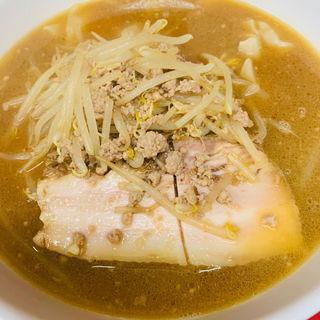 味噌ワンタン麺+1(天竜 (てんりゅう))