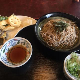 天ざるセット(茶房ひまわり イズミヤ枚方店 (SABOU HIMAWARI))
