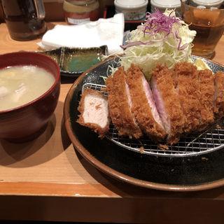 とんかつランチ定食(とんかつ檍)